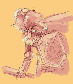 Rose's knight in shining armor