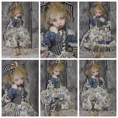 OOAK Handmade Clothing for Kaye Wiggs MSD BJD by BlueBerry Bunny