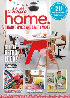 mollie makes home-my crochet project is featured in this issue ;-)