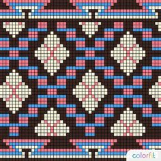 This Pin was discovered by Gen Tapestry Crochet Patterns, Fair Isle Knitting Patterns, Crochet Handbags, Crochet Purses, Crochet Chart, Crochet Stitches, Cross Stitch Embroidery, Cross Stitch Patterns, Tapestry Bag