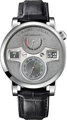 A. LANGE ZEITWERK HANDWERKSKUNST In Platinum (Ref. 140.048)
