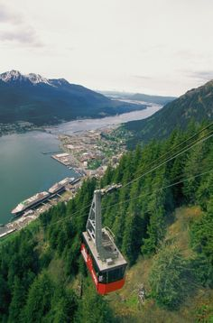 Alaska is full of breathtaking views. Take a gondola ride above Juneau for an even better perspective. Click through to enter the @valpak Sizzlin' Summer #Sweepstakes for a chance to win a trip for 4.