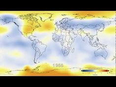 Variação da temperatura em 1880-2011