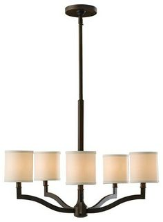 """Traditional Murray Feiss Stelle 26"""" Wide Pendant Chandelier - traditional - chandeliers - Lamps Plus"""