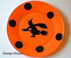 Diseñar Dazzle: Haga sos Propios Platos de Halloween de