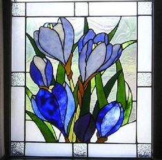 Crocuses - Delphi Stained Glass