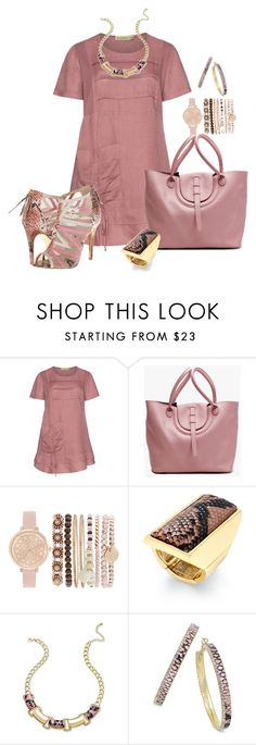 """Dusky Pink Tunic"" by hope-houston on Polyvore featuring Isolde Roth, Thalia Sodi and Kristin Cavallari"