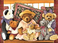Teddy Bears by Eileen Dineley