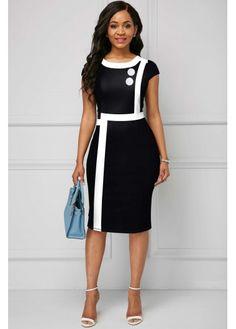 Latest African Fashion Dresses, Women's Fashion Dresses, Briadsmaid Dresses, Knee Length Dresses, Short Sleeve Dresses, Long Sleeve, Classy Dress, African Dress, Elegant Dresses