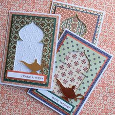First Edition Moroccan Spice Wish Cards by design team member Angie
