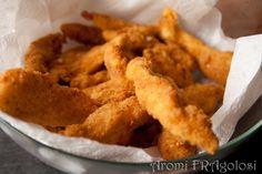 Bastoncini di pollo fatti in casa