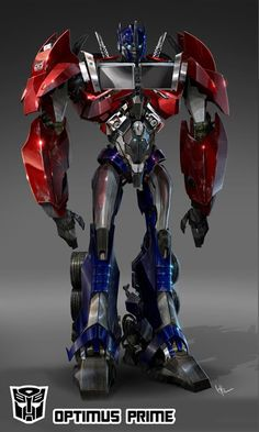 has shared with us some cool concept artwork from Transformers Prime by way of a New Year's gift. The artwork showcases all the major characters in their r
