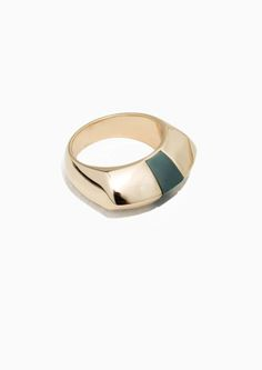 & Other Stories | Chunky Signet Ring