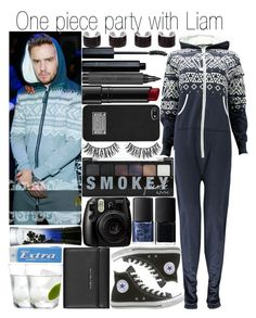 """""""One Piece party with Liam"""" by fashion-onedirection ❤ liked on Polyvore featuring Boohoo, Payne, Maison Margiela, Vincent Longo, Topshop, Bobbi Brown Cosmetics, MICHAEL Michael Kors, Converse, Rimini and NARS Cosmetics"""