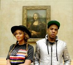 Jay Z and Beyonce Posing In Front of the Mona Lisa Is Everything Formation Photo, Formation Tour, Beyonce Pregnant, Madonna, Cannabis, Beyonce Et Jay Z, Snapchat, Mrs Carter, Musica