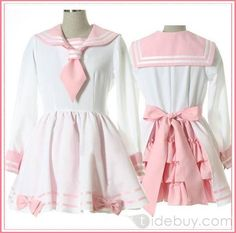 Lolita-Inspired Sailor Fuku
