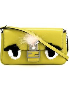 Shop Fendi micro 'Baguette' crossbody bag in Vinicio from the world's best independent boutiques at farfetch.com. Shop 400 boutiques at one address.