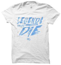 Legends Tee - (White / Carolina Blue)