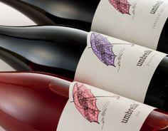 "Consulta este proyecto @Behance: ""Umbrella Wines by the Labelmaker""…"