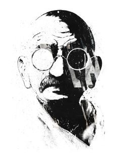 "What difference does it make to the dead, the orphans and the homeless, whether the mad destruction is wrought under the name of totalitarianism or the holy name of liberty or democracy? Mahatma Gandhi, ""Non-Violence in Peace and War"""