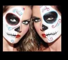 halloween face - Google Search