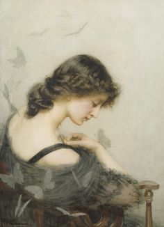 PAPILLONS NOIRS by St George Hare, 1857-1933
