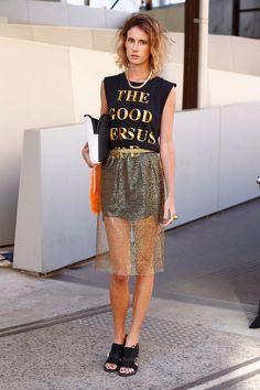 Camisetas con mensaje: Good vs God de Ksubi
