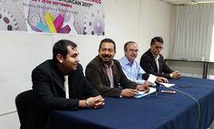 Así lo anunciaron en conferencia de prensa el titular de la Secretaría de Innovación, Ciencia y Desarrollo Tecnológico (SICDET), José Luis Montañez Espinosa, y el coordinador del evento, Javier Ríos