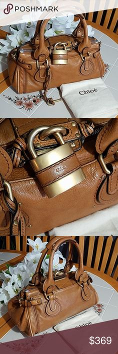 295834408ac7 Spotted while shopping on Poshmark  AUTHENTIC Tan Chloe Paddington. Almost  perfect!