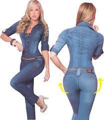 Resultado de imagen para enterizos en jean