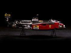 Ferrari Formula One. Just gorgeous engineering. Of course the secret here is that Ferrari Formula One cars have been designed in Britain by British engineers and engineering teams since the 1980s - John Barnard, Rory Byrne, etc.