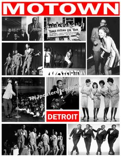 The Funk Brothers, Marvin Gaye, Stevie Wonder, Tammie Terrell, the Four Tops, The Temptations, The Marvelettes.