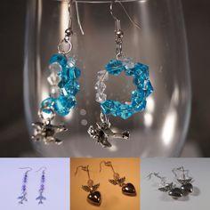 Orecchini, anelli e braccialetti personalizzabili con charms di aerei, ancore, cuori. WWW.TANTANTURA.COM
