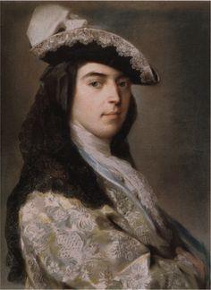 """""""Charles Sackville, 2nd Duke of Dorset"""" (1730) by Rosalba Carriera"""
