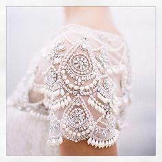 Marchesa @marchesafashion Crystal lining. X...Instagram photo   Websta (Webstagram)