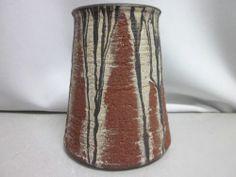 Gerhard Liebenthron (1925* - 2005+) / Bremen - Germany - 1982 Bremen Germany, Pottery Marks, Vintage Vases, Pottery Vase, Art Studios, Pots, Home Decor, Decoration Home, Room Decor