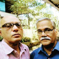 Advocate Jayaprakash Mallay and Dr. Perinjiri Narayanan Nambudri Head of Sanskrit Department, University of Calicut.
