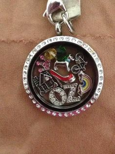 Wizard if oz inspired Origami Owl Living Locket  - To place your order, visit my website at http://yourcharminglocket.origamiowl.com/ or if you have further questions, OR LOOKING FOR A RETIRED OO PRODUCT, message me on Facebook. https://www.facebook.com/YourCharmingLocket.