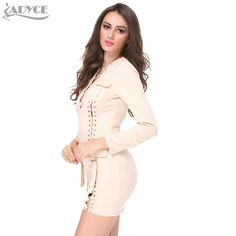 Faux Suede Dress black , green Or khaki hollow out deep V-neck sexy khaki long sleeves