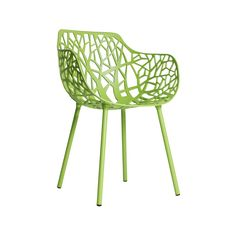 Forest Karmstol, Acid Grön, Fast Design 4195 kr