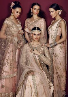 Obsessed with this bridesmaid lehengas?,( if yes)then get this beautiful customized lehenga outfit from nivetas design studio. Indian Bridal Fashion, Indian Wedding Outfits, Bridal Outfits, Indian Outfits, India Fashion, Ethnic Fashion, London Fashion, Lehenga Choli, Anarkali