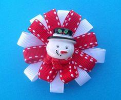 Snowman bow