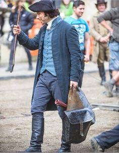 Aidan Turner as Captain Ross Poldark