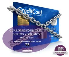 Guarding Your Credit During Your Move: Most people think that moving from one home to another, even in the same city, does not pose any risks to their identity or credit. The truth is that moving actually increases the risk of identity theft and credit damage. www.noahsarkinc.com/blog/guarding-credit-move/ ‪#‎NoahsArkMoving‬ ‪#‎ProfessionalMovers‬ ‪#‎MovingCompany‬ ‪#‎MovingandStorage