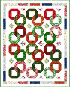 Christmas Garlands by Pine Tree Country Quilts