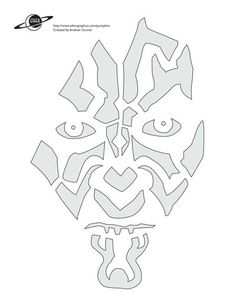 Quit carving the same old boring pumpkin design every year and use of the these free Star Wars pumpkin stencils. You will have the coolest pumpkin on the block. Halloween Pumpkin Stencils, Halloween Pumpkins, Halloween Decorations, Darth Vader Pumpkin Stencil, Star Wars Stencil, Stencil Art, Stenciling, Pumkin Carving, Pumpkin Carving Patterns