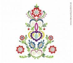 Výšivka Vajnory 8 farieb, 20x27 cm