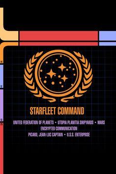 star trek iphone wallpaper federation - Google Search