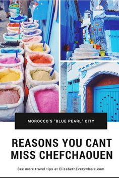 Reasons You Can't Miss Chefchaouen on Your Trip to Morocco – elizabeth everywhere