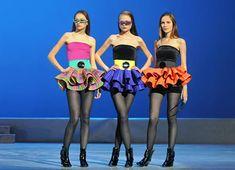 Показ новой коллекции одежды дизайнера Пьера Кардена в Государственном Кремлевском Дворце. 2011 год Pierre Cardin